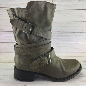 Steve Madden Brewzzer Genuine Leather Boots